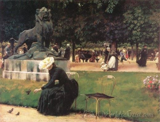 In The Luxembourg Garden