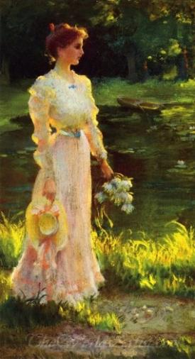 By The Lily Pond