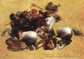 Battle Of Anghiari Tavola Doria
