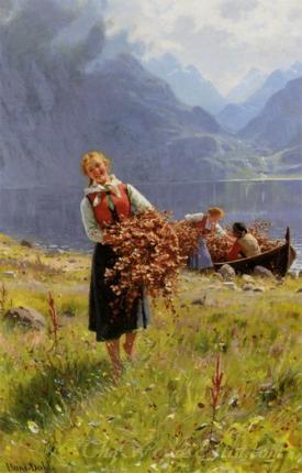 Sommerdag Ved En Norsk Fjord  (Summer On A Norwegian Fjord)
