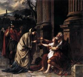 Belisarius Recognized By His Soldiers