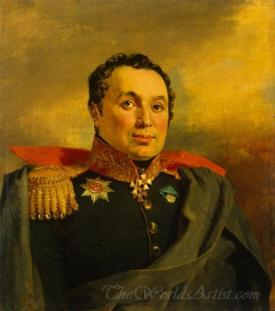 Portrait Of Afanasy Ikrasovsky