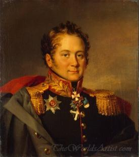 Portrait Of Alexander Apisarev