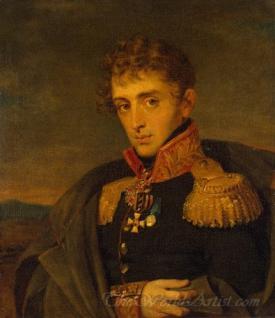 Portrait Of Alexander Tuchkov