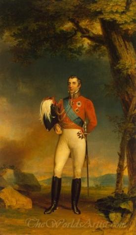 Portrait Of Duke Of Wellington