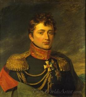 Portrait Of Emmanuil De Saint Priest