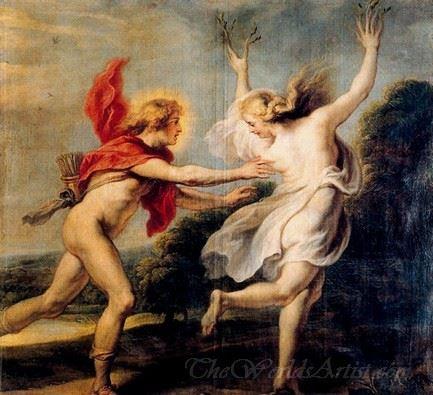 Apollo Chasing Daphne
