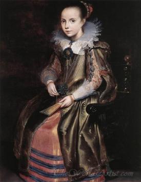 Elisabeth Cornelia Vekemans As A Young Girl