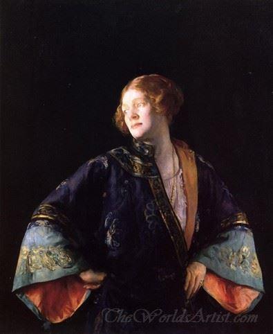 The Blue Mandarin Coat