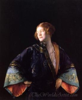 The Blue Mandarin Coat
