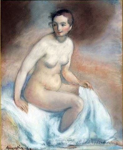 Femme Nue Assise  (Nude Seated Woman)