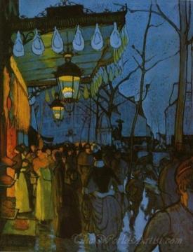Avenue De Clichy Five O Clock In The Evening