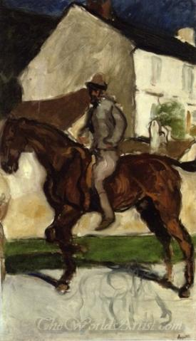 Equestrian Self Portrait