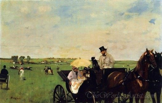 A Carriage At The Races