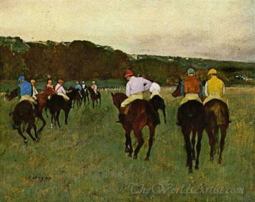 Running Horses In Longchamp
