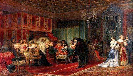 Cardinal Mazarin Dying