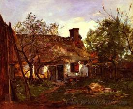 La Chaumiere A Berneval  (The Cottage At Berneval)