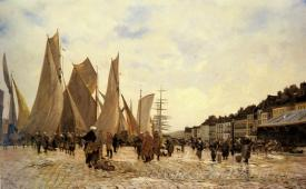 The Docks At Dieppe
