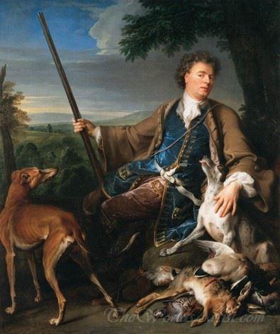 Self Portrait As A Huntsman  (Self Portrait In Hunting Dress)