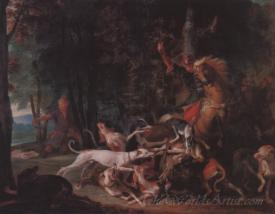 Scene De Chasse  (Hunting Scene)