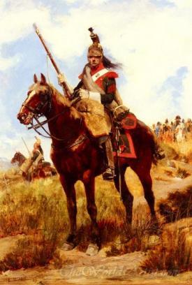 A Rank Soldier Of The 12th Dragon Regiment En Vedette