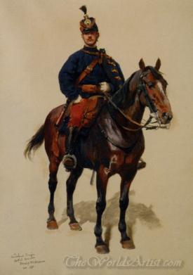 Un Soldat De La Cavalerie  (Soldier Of The Cavalry)