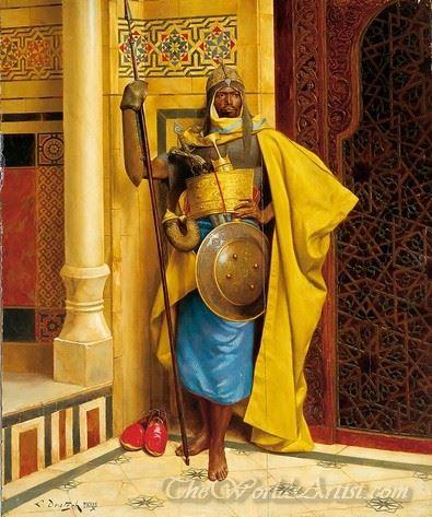 The Nubian Palace Guard