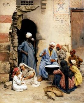 The Sahleb Vendor  Cairo
