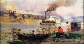 Steamboat On The Ohio
