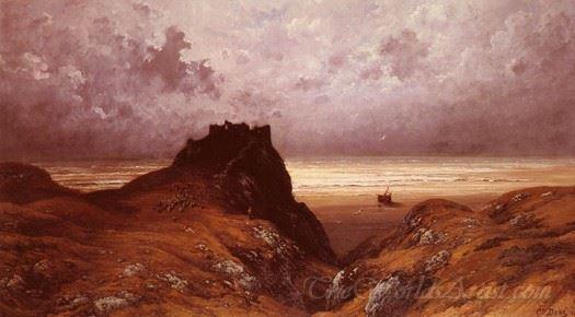 Castle On The Isle Of Skye
