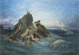 Les Oceanides Les Naiades De La Mer  (The Oceanides The Naiads Of The Sea)
