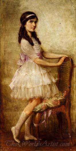 Portrait Of Miss Barbara De Selincourt