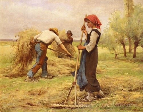 La Recolte Des Foins  (The Harvesting Of The Hay)