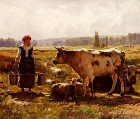 La Laitiere  (The Milkmaid)