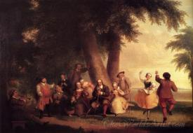The Dance Of The Battery In The Presence Of Peter Stuyvesant