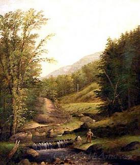 Rural Fishing Scene