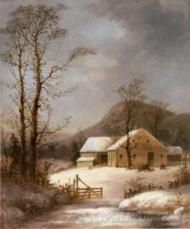 Winter Farmyard