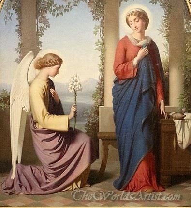 Hail Mary  (The Annunciation)