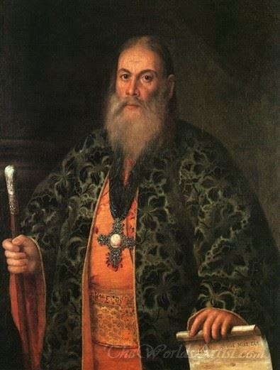 Portrait Of Father Fyodor Dubyansky