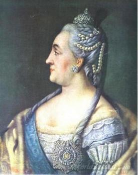 Portrait Of Catherine Ii The Great