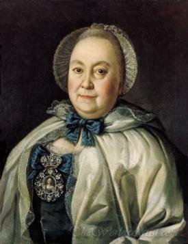Portrait Of Countess Marumyantzeva