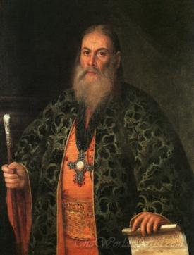 Portrait Of Father Fyodor Dubyansky