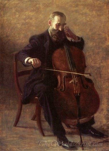 The Cello Player
