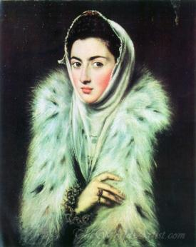 A Lady In A Fur Wrap
