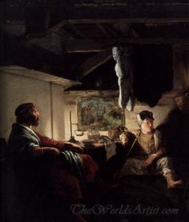Jupiter And Mercury At Philemon And Baucis