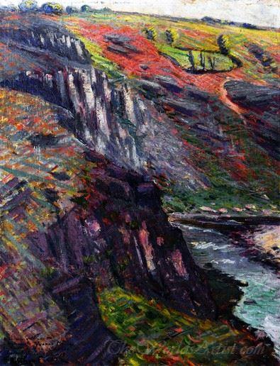 Landscape Crozant