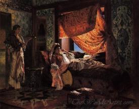 A Moorish Interior
