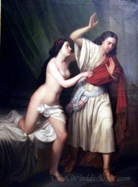 Jose Y La Mujer De Putifar  (Joseph And Potiphars Wife)
