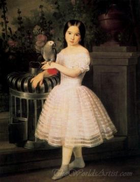 Retrato De Rafaela Flores Calderon