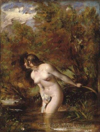 Musidora The Bather